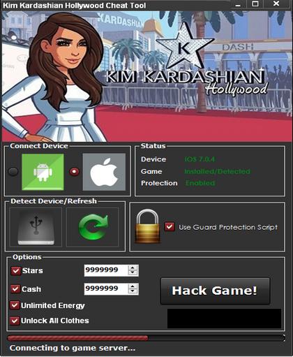 Kim kardashian hollywood hack cheats ios and android free